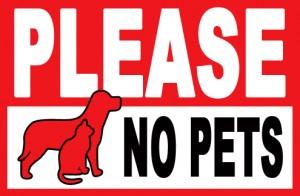 No Pets 2
