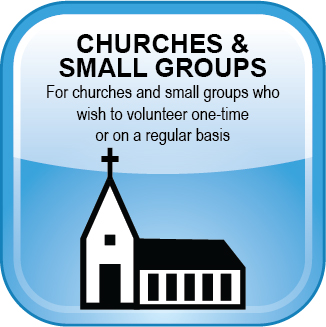 Volunteer Web Button Church