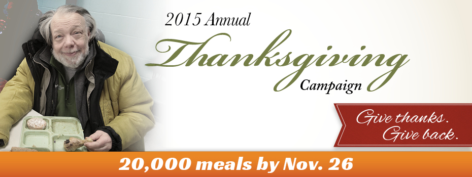 2015 Wheeler Mission Thanksgiving Campaign