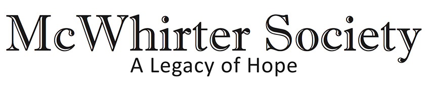 McWhirter Society: A Legacy of Hope