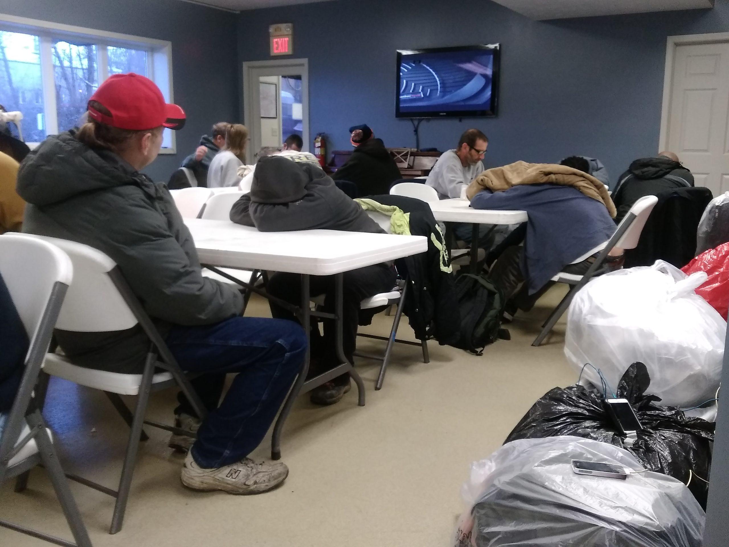 shelter for homeless men