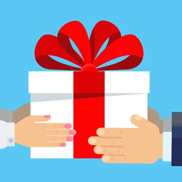 sponsor gift giving
