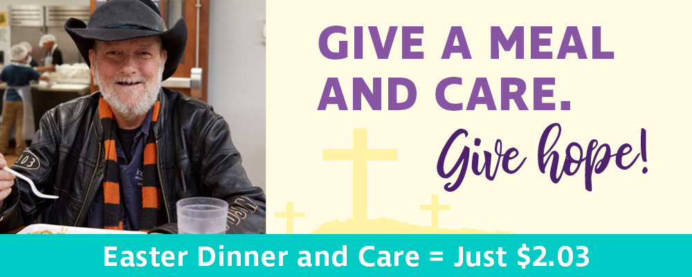 Give a meal and care this Easter