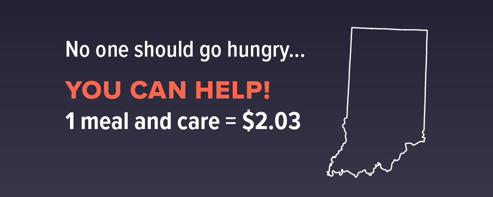 You can help your hungry neighbors who are homeless at Wheeler Mission