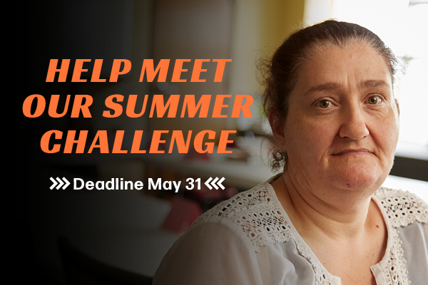 Help Wheeler Mission meet its Summer Challenge